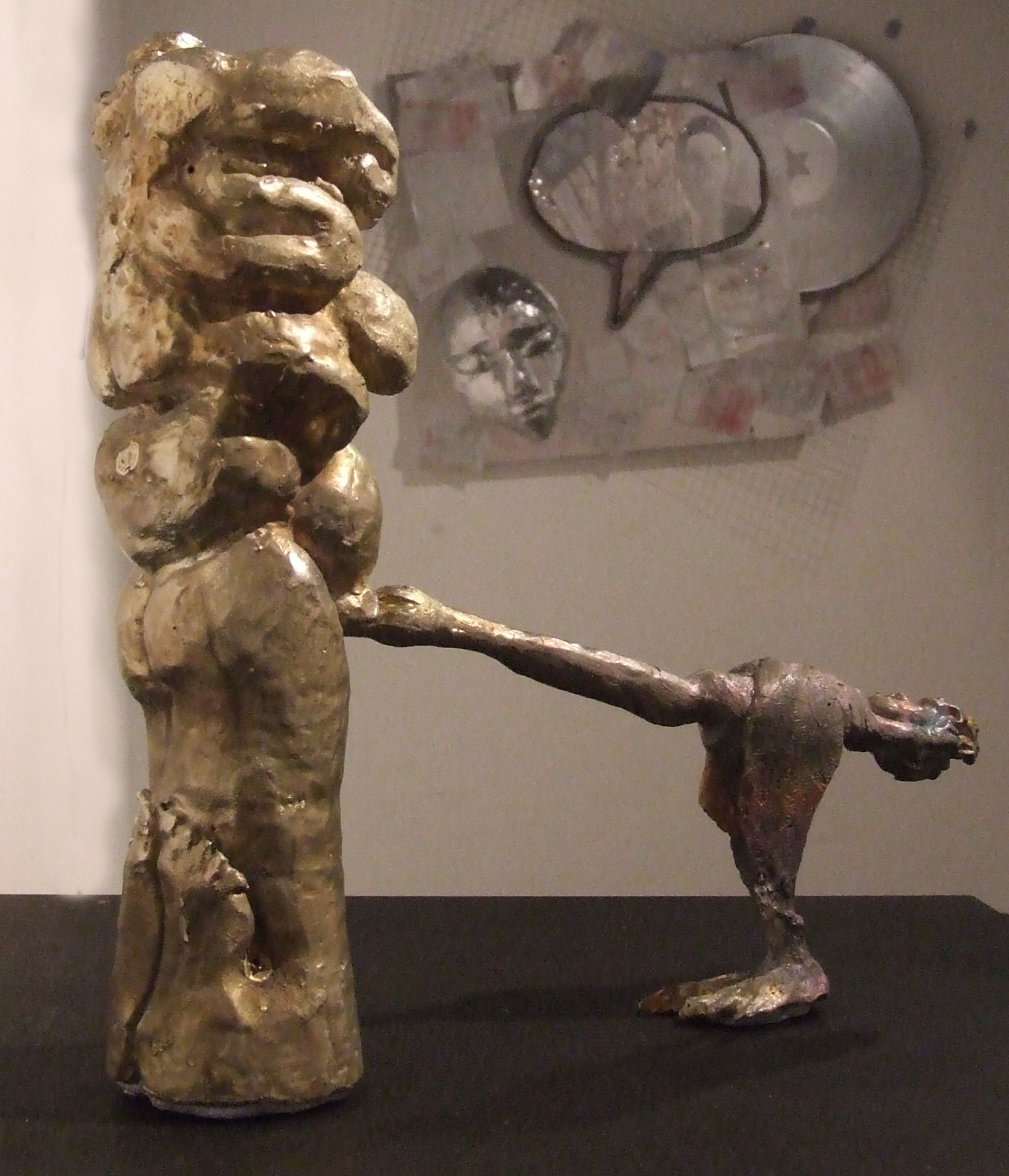 Leda and the Policy Wonk, pewter 2012